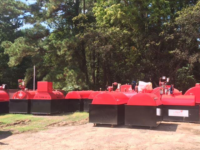 Staging Emergency Fueling Tanks